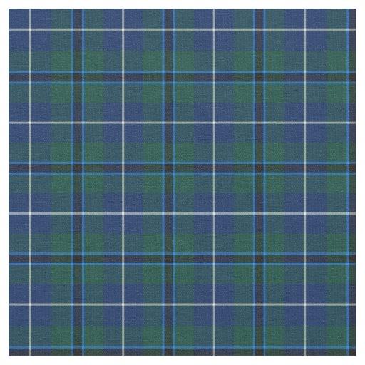 Clan Douglas Modern Tartan Fabric Zazzle