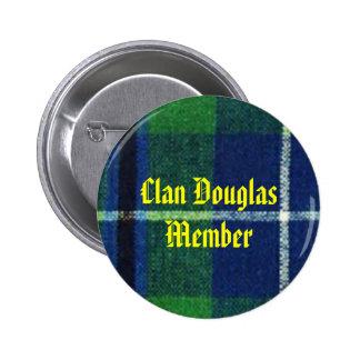 Clan Douglas Tartan Badge  Member
