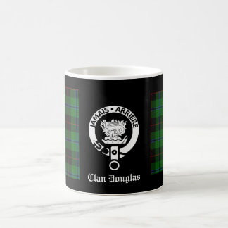 Clan Douglas Tartan Crest Coffee Mug
