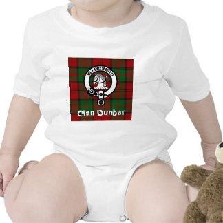Clan Dunbar Tartan Crest Badge Bodysuit