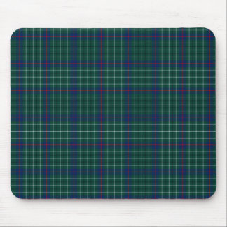 Clan Duncan Green and Blue Scottish Tartan Mouse Mat