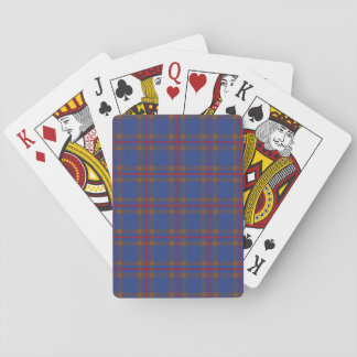 Clan Elliot Tartan Poker Deck