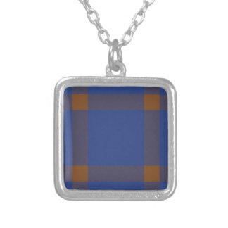 Clan Elliot Tartan Silver Plated Necklace