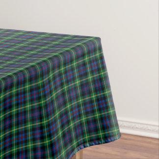 Clan Farquharson Bright Blue and Green Tartan Tablecloth