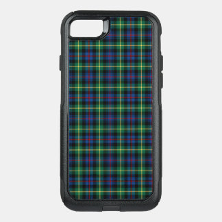 Clan Farquharson Tartan Blue and Green Plaid OtterBox Commuter iPhone 8/7 Case