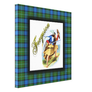 Clan Ferguson Scottish Dream Stretched Canvas Print