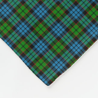 Clan Fletcher Tartan Fleece Blanket