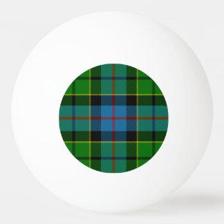 Clan Forsyth Tartan Ping Pong Ball