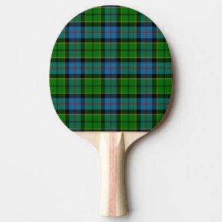Clan Forsyth Tartan Ping Pong Paddle