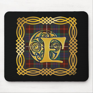 Clan Fraser Ancient Tartan Mouse Mat