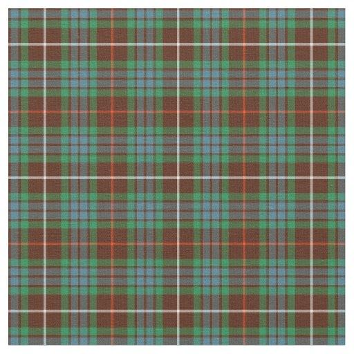 Clan Fraser Hunting Tartan Fabric