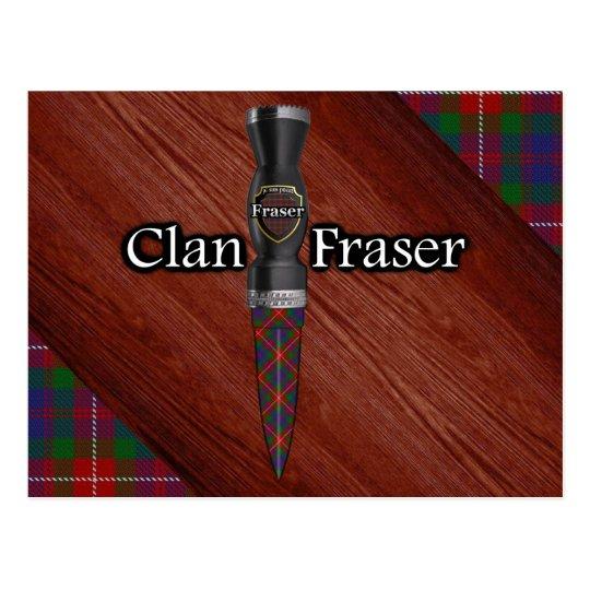 Clan Fraser of Lovat Tartan Sgian Dubh Blade