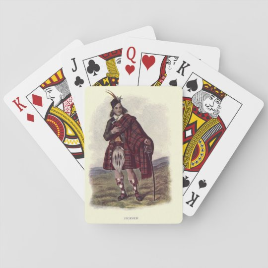 Clan Fraser Playing Cards