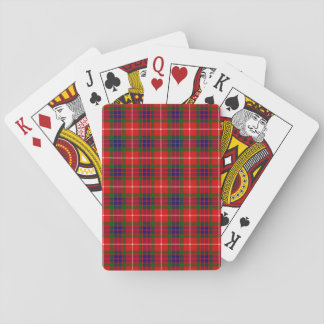 Clan Fraser Tartan Playing Cards