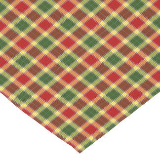 Clan Gibbs and Gibson Colorful Scottish Tartan