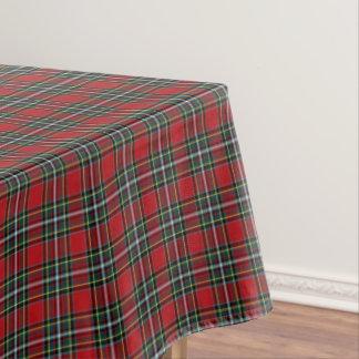 Clan Gillespie Bright Red Scottish Tartan Tablecloth