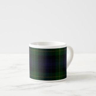 Clan Gordon Regimental Tartan Espresso Mug