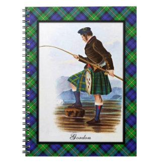 Clan Gordon Scottish Highland Dreams Spiral Notebook