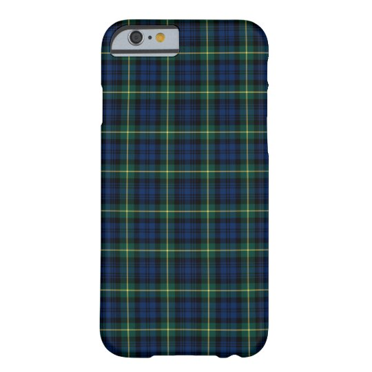 Clan Gordon Tartan Blue, Green, and Yellow Plaid
