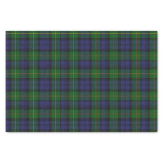 Clan Gordon Tartan Plaid Tissue Paper