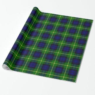Clan Gordon Tartan Wrapping Paper
