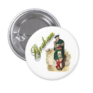 Clan Graham Scottish Dream Button