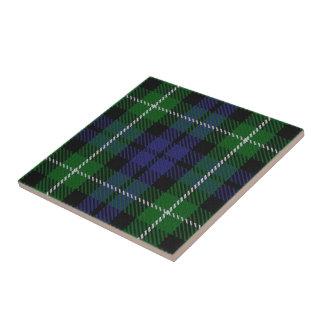 Clan Graham Scottish Expressions Tartan Small Square Tile