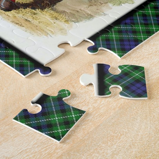 Clan Graham Scottish Highland Dreams Jigsaw Puzzle