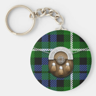 Clan Graham Tartan And Sporran Key Ring