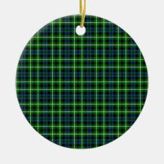 Clan Graham Tartan Christmas Ornament