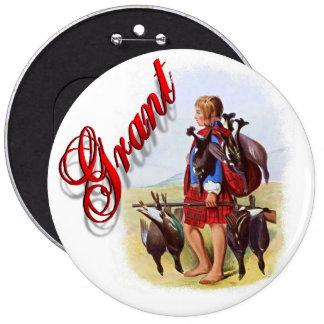 Clan Grant Scottish Dream Button