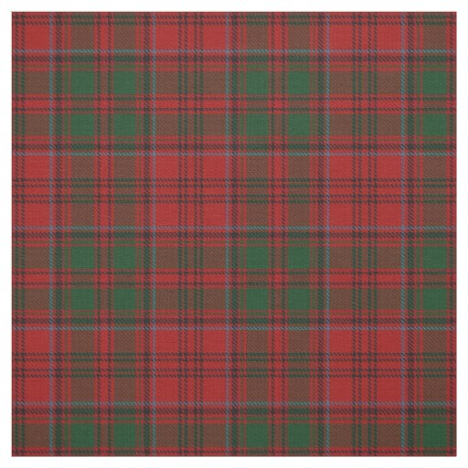 Clan Grant Scottish Tartan Plaid Fabric