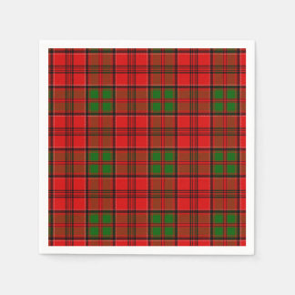 Clan Grant Tartan Disposable Napkins