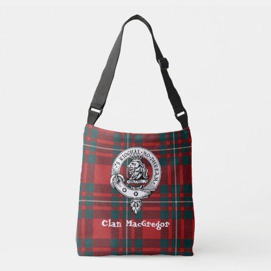 Clan Gregor Cross Shoulder Tote (Poem On Back)