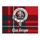 Clan Gregor Postcards