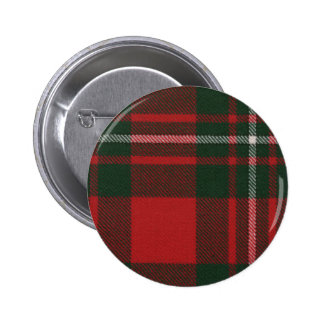 Clan Gregor Tartan Button