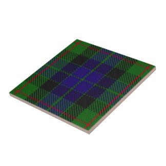 Clan Gunn Scottish Expressions Tartan Tile