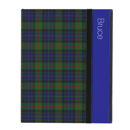 Clan Gunn Tartan Plaid Custom iPad Case