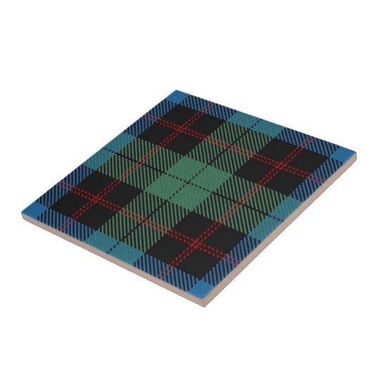 Clan Guthrie Scottish Expressions Tartan Tile