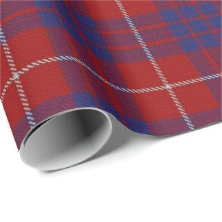Clan Hamilton Scottish Tartan Wrapping Paper