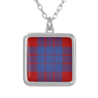 Clan Hamilton Tartan Silver Plated Necklace