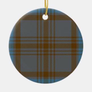 Clan Hannah Tartan Christmas Ornament