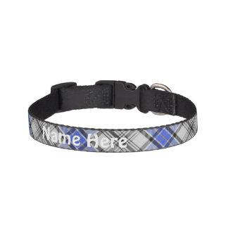Clan Hannay Tartan Customize Pet's Name Pet Collar
