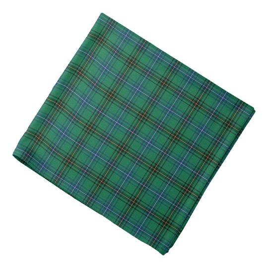 Clan Henderson Bright Green, Blue and Black Tartan