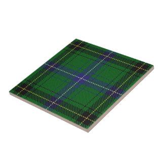 Clan Henderson Scottish Expressions Tartan Small Square Tile