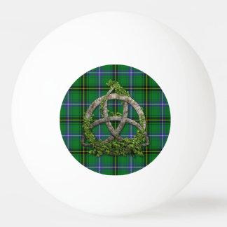 Clan Henderson Tartan Celtic Trinity Ping Pong Ball