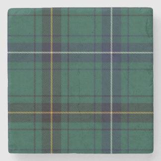 Clan Henderson Tartan Plaid Stone Coaster