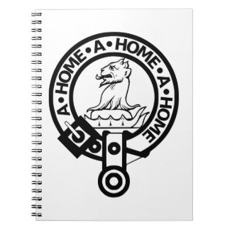 Clan Home Notepad Notebooks