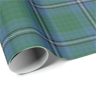 Clan Irvine Irwin Scottish Tartan Wrapping Paper
