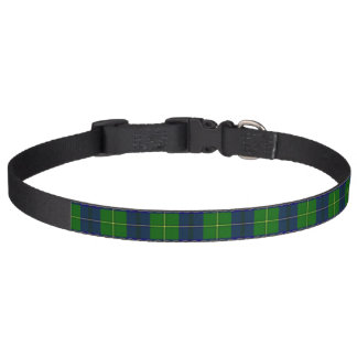Clan Johnston Tartan Pet Collar
